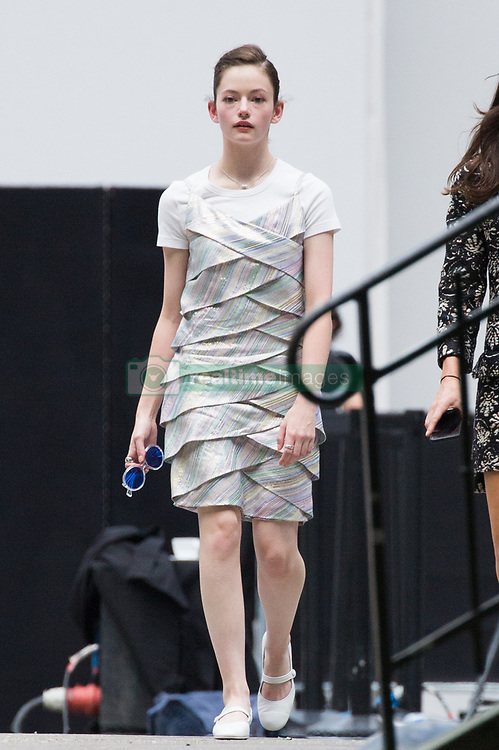 Mackenzie Foy leaving Chanel fashion show during Paris Haute Couture Fall Winter 2018/2019 in Paris, France on July 03, 2018. Photo by Nasser Berzane/ABACAPRESS.COM