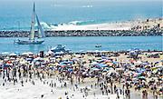 Corona Del Mar During Summer