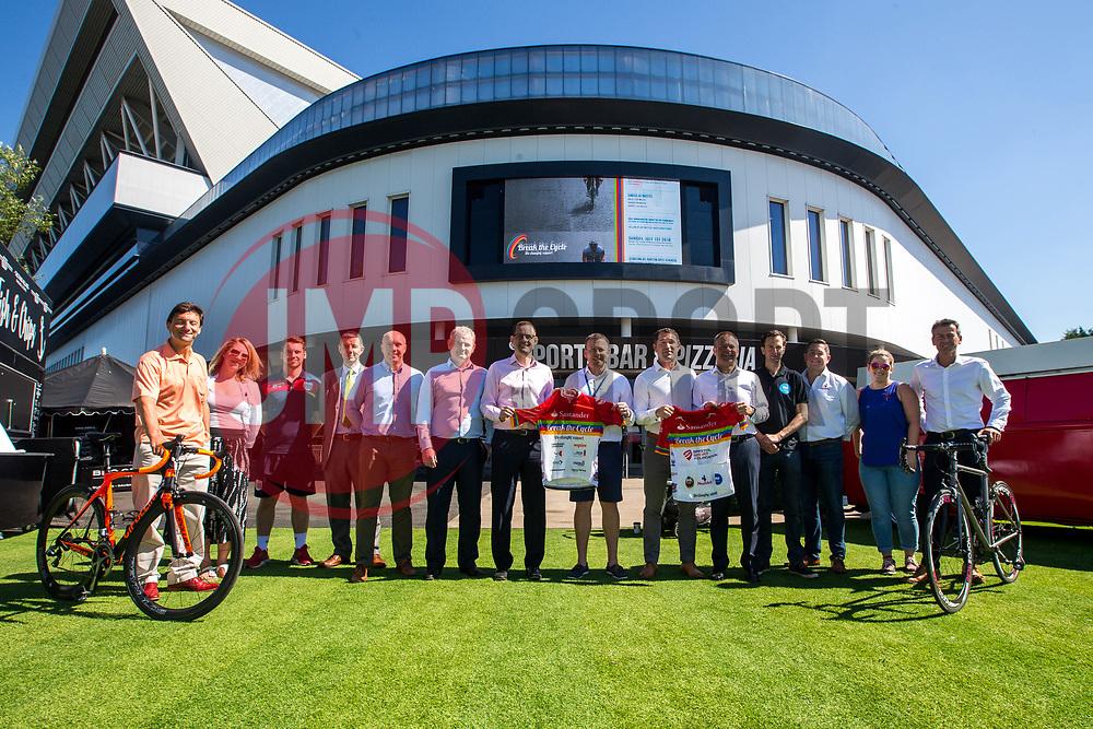 Break the Cycle Kit Launch - Mandatory by-line: Robbie Stephenson/JMP - 26/06/2018 - SPORT - Ashton Gate - Bristol, England - Break The Cycle 2018 Kit Launch