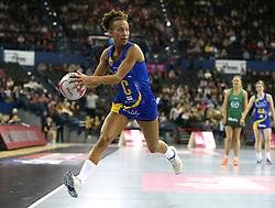 Team Bath Netball's Serena Guthrie during the Vitality Netball Superleague Super Ten match held at Arena Birmingham