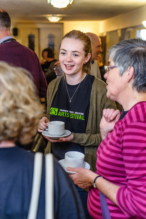 The 2017 YES (Selkirk, Ettrick & Yarrow) Festival, which took place over tyhe 12th to 17th September. The bi-annual arts event took place at venues in the Valleys and Selkirk, including The Haining, The County Hotel, Selkirk town square and Bowhill House.  The event included dance, the visual arts, moving image, outdoor theatre, live music and poetry.