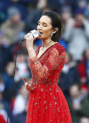 February 10, 2019 - London, England, United Kingdom - Laura Wright ..during the Guiness 6 Nations Rugby match between England and France at Twickenham  Stadium on February 10th,  in Twickenham, London, England. (Credit Image: © Action Foto Sport/NurPhoto via ZUMA Press)