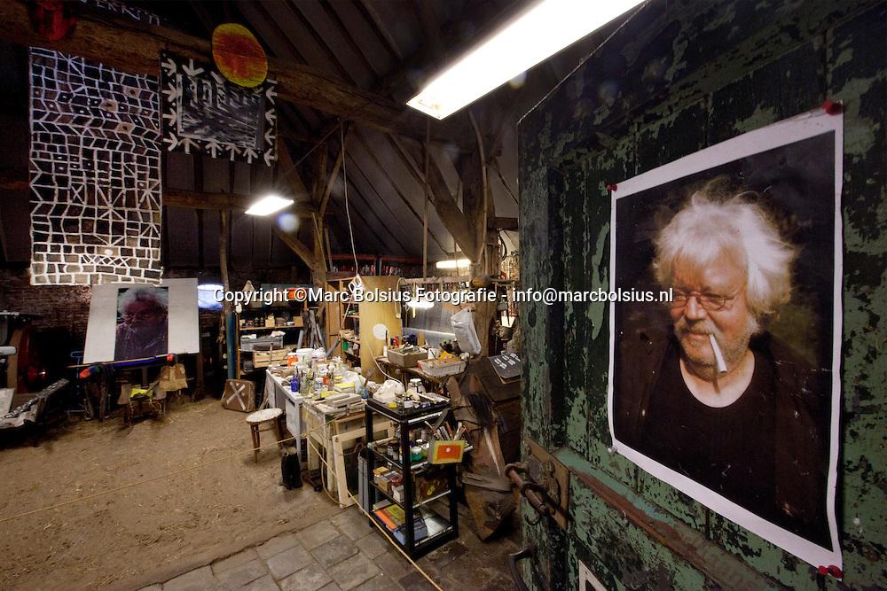 sint michielsgestel,het gerestaureerde atelier van wijlen kunstenaar leon adriaans