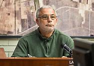 Larry Suprauru at a Nov. 14, 2017 St John the Baptist Parish Council Meeting
