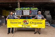Paulo and Beto, owners of Sunrise Organic Farm
