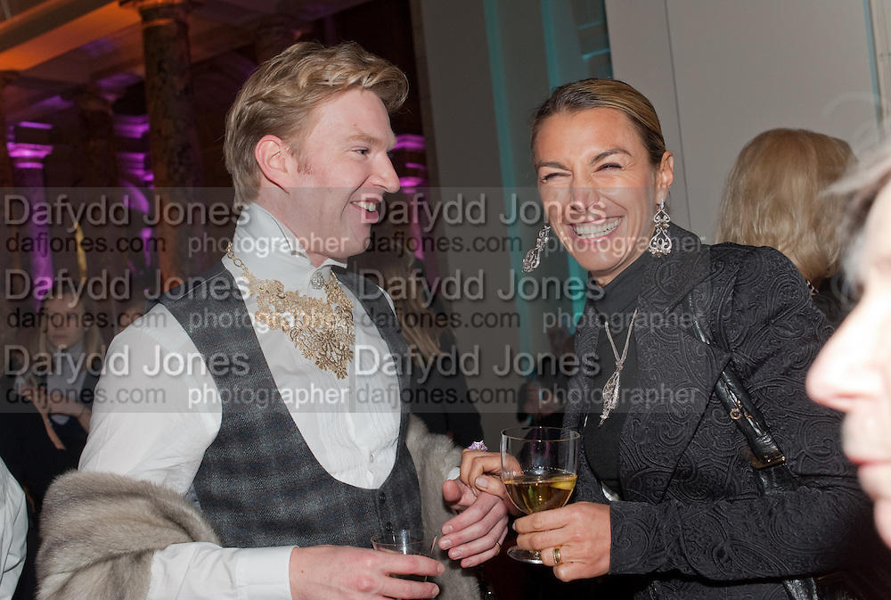 HENRY CONWAY; ASSIA WEBSTER, Cecil Beaton private view. V and A Museum. London. 6 February 2012