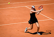 Elena Rybakina of Kazakhstan during the first round of the Roland-Garros 2021, Grand Slam tennis tournament on May 30, 2021 at Roland-Garros stadium in Paris, France - Photo Rob Prange / Spain ProSportsImages / DPPI / ProSportsImages / DPPI