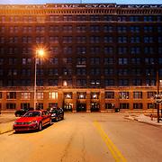 Kansas City Livestock Exchange Building in the West Bottoms area of Kansas City, Missouri.