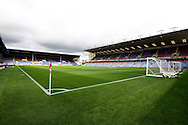 a General view inside the Turf Moor stadium before the match. Skybet football league championship match, Burnley  v Birmingham City at Turf Moor in Burnley, Lancs on Saturday 15th August 2015.<br /> pic by Chris Stading, Andrew Orchard sports photography.