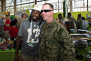 January 27 2016: Indianapolis Colts T.Y. Hilton during the Pro Bowl Draft at Wheeler Army Base on Oahu, HI. (Photo by Aric Becker/Icon Sportswire)