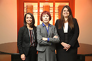 SHOT 12/4/19 11:23:18 AM - McGuane & Hogan, P.C., a Colorado family law firm located in Denver, Co. Includes attorneys Kathleen Ann Hogan, Halleh T. Omidi and Katie P. Ahles. (Photo by Marc Piscotty / © 2019)