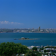 South America, Uruguay, Montevideo, from the hill of Montevideo