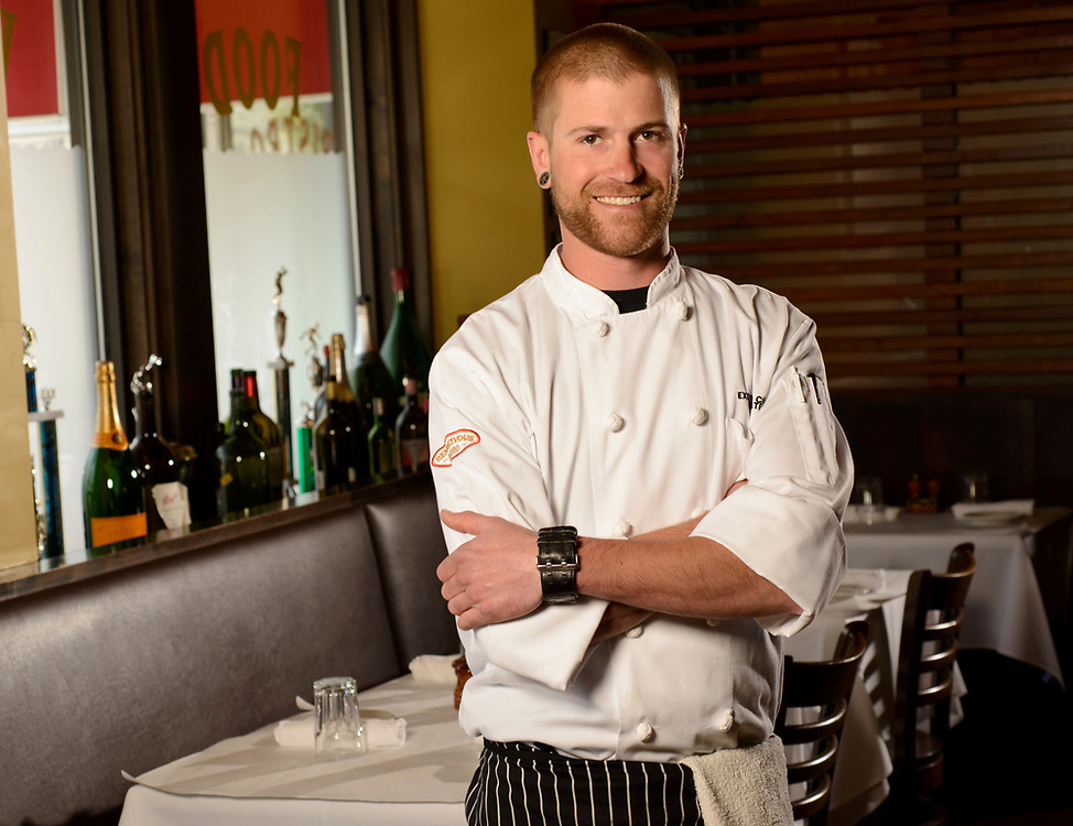Rendezvous Bistro chef Joel Tate.
