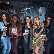 NLD/Amsterdam/20140415 - DVD presentatie Ladies of Soul, Glennis Grace, Berget Lewis, Trijntje Oosterhuis, Edsilia Rombley, Candy Dulfer en Tjeerd Oosterhuis