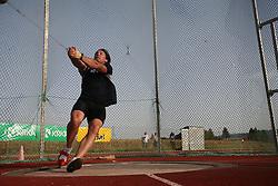 Olympic winner Primoz Kozmus at 23rd International Meeting Brezice 2008, on September 10, 2008, Brezice, Slovenia.   (Photo by Vid Ponikvar / Sportal Images).