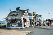 Little shops on the Halifax Waterfront , Halifax, Nova Scotia, Canada