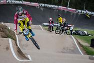 #127 (TREIMANIS Edzus) LAT at the 2016 UCI BMX Supercross World Cup in Santiago del Estero, Argentina