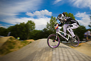 #96 (WALKER Sarah) NZL at the 2014 UCI BMX Supercross World Cup in Berlin, Germany.