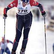 KIRUNA 20021122<br /> Vincent Vittoz (FRA) won the men,s  World Cup 10 km cross country  in Kiruna, Sweden November 23, 2002.<br /> Vittoz won with time 23.59,9 ahead of Pietro Piller Cottrer (ITA)  second and Fulvio Valbusa (ITA) in third place.<br /> Picture: Vincent Vittoz <br /> FOTO: Anders Wiklund/SCANPIX Code 50030