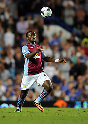 "Aston Villa's Jores Okore makes his Aston Villa debut  - Photo mandatory by-line: Joe Meredith/JMP - Tel: Mobile: 07966 386802 21/08/2013 - SPORT - FOOTBALL - Stamford Bridge - London - Chelsea V Aston Villa - Barclays Premier League - EDITORIAL USE ONLY. No use with unauthorised audio, video, data, fixture lists, club/league logos or ""live"" services. Online in-match use limited to 45 images, no video emulation. No use in betting, games or single club/league/player publications"
