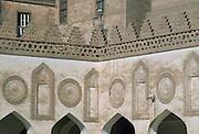 Detail of the Alcazhar Mosque in Cairo, Egypt