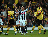 Photo: Tony Oudot/Sportsbeat Images.<br /> Watford v West Bromwich Albion. Coca Cola Championship. 03/11/2007.<br /> Kevin Phillips of West Brom celebrates his first goal and West Broms second