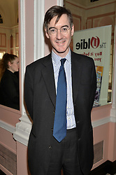 JACOB REES-MOGG at the Oldie Magazine's Oldie of The Year Awards held at Simpson's In The Strand, London on 4th February 2014.