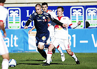 Fotball , 2. februar 2010 , Privatkamp , La Manga , Strømsgodset - New York Red Bulls<br /> <br /> Marcus Pedersen , SIF <br /> Seth Stummler , NYRB
