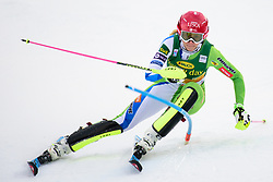 January 7, 2018 - Kranjska Gora, Gorenjska, Slovenia - Ana Bucik of Slovenia competes on course during the Slalom race at the 54th Golden Fox FIS World Cup in Kranjska Gora, Slovenia on January 7, 2018. (Credit Image: © Rok Rakun/Pacific Press via ZUMA Wire)