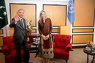 QUEEN MAXIMA VISITS PAKISTAN DAY 1