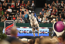 Melchior Judy Ann, (BEL), As Cold As Ice Z<br /> Longines FEI World Cup presented by Sparkasse<br /> Sparkasen Cup-Grand Prix of Leipzig<br /> CSIO Leipzig 2016<br /> © Hippo Foto - Stefan Lafrentz