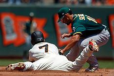 20180715 - Oakland Athletics at San Francisco Giants