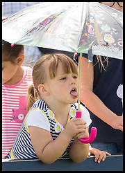 August 5, 2017 - United Kingdom - Image licensed to i-Images Picture Agency. 05/08/2017. Gatcombe Park, United Kingdom. The Queen's great-granddaughter Mia Tindall on the second day of the Festival of British Eventing at Gatcombe Park, United Kingdom.  Picture by Stephen Lock / i-Images (Credit Image: © Stephen Lock/i-Images via ZUMA Press)