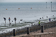Local residents of Eastern England are seen enjoying the sunshine in East Beach of Shoeburyness on Monday, July 26, 2021 - following the weekend of Floods due to torrential rains in England, United Kingdom. (VX Photo/ Vudi Xhymshiti)