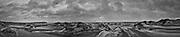 Nederland, Noord-Holland, Texel, 11-02- 2020; De Hors bij zonsopgang, hoog water tijdens storm Cira.<br /> The Hors at sunrise, high tide during storm Cira.<br /> <br /> Onderdeel Gigapanorama (montage).<br /> copyright © 2020 foto/photo Siebe Swart