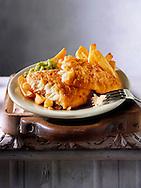 British Food - Battered Fish & Chips