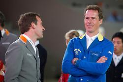 Ahlmann Christian (GER) - Weishaupt Philipp (GER)<br /> Rolex FEI World Cup ™ Jumping Final <br /> 'S Hertogenbosch 2012<br /> © Dirk Caremans