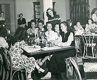 1945 Breakfast at the Hollywood Studio Club