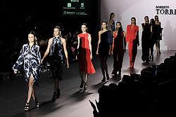 September 16, 2016 - Madrid, Spain - Models showcase designs by Roberto Torretta on the runway at the Roberto Torretta show during Mercedes-Benz Fashion Week Madrid Spring/Summer 2017 at Ifema on September 16, 2016 in Madrid, Spain. (Credit Image: © Oscar Gonzalez/NurPhoto via ZUMA Press)