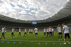 08.07.2014, Mineirao, Belo Horizonte, BRA, FIFA WM, Brasilien vs Deutschland, Halbfinale, im Bild Mineirao staium where Germany and Brasil will play the first semifinal of the World Cup 2014, in Belo Horizonte, Brazil, 8 th, July 2014. // during Semi Final match between Brasil and Germany of the FIFA Worldcup Brazil 2014 at the Mineirao in Belo Horizonte, Brazil on 2014/07/08. EXPA Pictures © 2014, PhotoCredit: EXPA/ Eibner-Pressefoto/ Cezaro<br /> <br /> *****ATTENTION - OUT of GER*****
