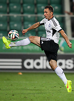 Fotball<br /> Kvalifisering UEFA Champions League<br /> 30.07.2014<br /> Legia Warszawa v Celtic 4:1<br /> Foto: imago/Digitalsport<br /> NORWAY ONLY<br /> <br /> Marek Saganowski