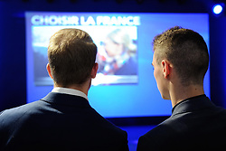 General atmosphere during French presidential election candidate for Front National (FN) far-right party Marine Le Pen's a statement after the second round of the French presidential election, at Chalet du Lac in Vincennes, near Paris, France on May 7, 2017. Le Pen has been defeated by Emmanuel Macron by a margin of more than 65% to 34%. Photo by Aurore Marechal/ABACAPRESS.COM