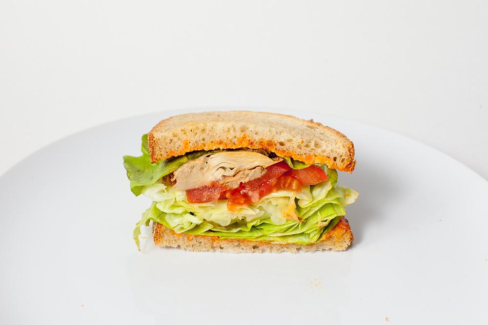 """Artichoke """"BLT"""" Sandwich from Riverwards ($7.50)"""