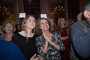BEATRICE BOWEN; SOPHIA WAUGH, The Literary Review Bad Sex in Fiction Award 2014. The In and Out ( Naval and Military ) Club, 4 St. James's Sq. London SW1. 3 December 2014.