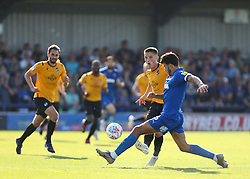 Tom Nichols of Bristol Rovers passes the ball under pressure - Mandatory by-line: Arron Gent/JMP - 21/09/2019 - FOOTBALL - Cherry Red Records Stadium - Kingston upon Thames, England - AFC Wimbledon v Bristol Rovers - Sky Bet League One