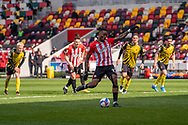 GOAL 2-0 Brentford Forward Ivan Toney (#17) scores from the spot during the EFL Sky Bet Championship match between Brentford and Watford at Brentford Community Stadium, Brentford, England on 1 May 2021.