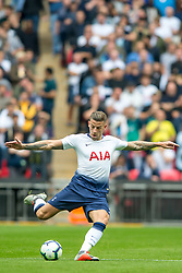 September 15, 2018 - Toby Alderweireld of Tottenham Hotspur during the Premier League match between Tottenham Hotspur and Liverpool at Wembley Stadium, London, England on 15 September 2018. Photo by Salvio Calabrese. (Credit Image: © AFP7 via ZUMA Wire)