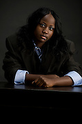 Portraits of Naomi Guerrier for use in self-promotion piece for Hiebert Photography and as portfolio development for Guerrier
