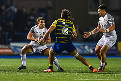 Paul Perez of Toulouse in action  - Mandatory by-line: Craig Thomas/JMP - 14/01/2018 - RUGBY - BT Sport Cardiff Arms Park - Cardiff, Wales - Cardiff Blues v Toulouse - European Rugby Challenge Cup