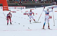 Langrenn<br /> FIS World Cup<br /> 18.01.2015<br /> Foto: Gepa/Digitalsport<br /> NORWAY ONLY<br /> <br /> OTEPÄÄ - ESTLAND<br /> <br /> FIS World Cup, team sprint, ladies. Image shows Ingvild Flugstad Østberg (NOR), Sylwia Jaskowiec (POL) and Stina Nilsson (SWE).